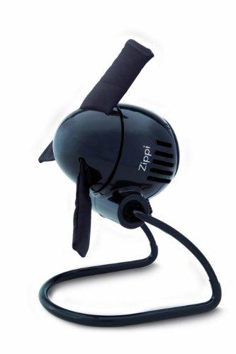 Vornado ZIPPI Negro - Ventilador (Negro, 114,3 mm, 139,7 mm, 158,8 mm, 770 g)