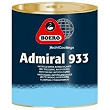 BOERO Yacht Coatings Admiral antivegetativa autolevigante, noir