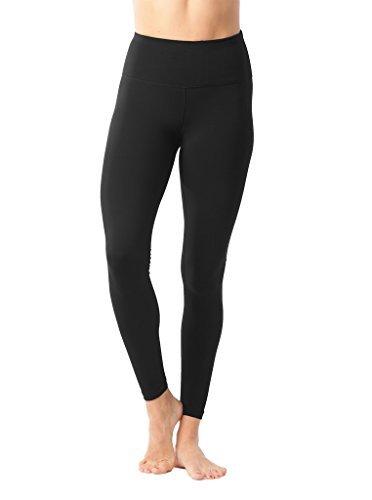 2bc32a62d8c0e 90 Degree By Reflex High Waist Power Flex Legging – Tummy Control -  Black/Black