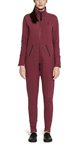 Onepiece Unisex Jumpsuit Out, Rot (Red Mel), 38 (Herstellergröße: M) Unisex One Piece