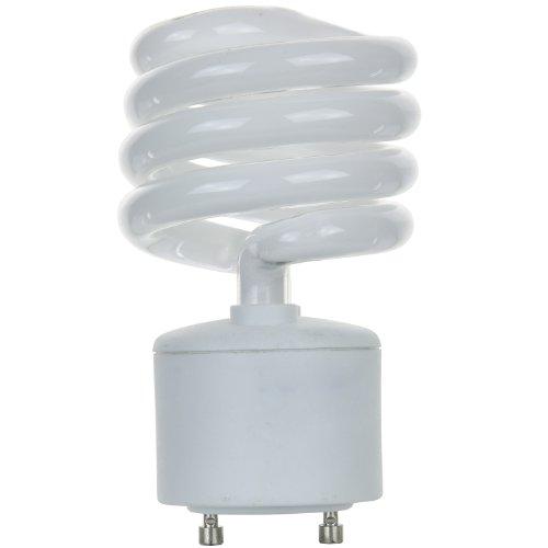 Gu24 Compact (Sunlite SL23/GU24/50K SL23/GU24/50K 23-watt GU24Spirale Energiesparend GU24Sockel, CFL Leuchtmittel, Super Weiß)