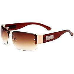 Allright Fahren GläSer Polarisierte Sonnenbrille Polizei MäNner Outdoor Sonnenbrille Klassische Sonnenbrille Braun