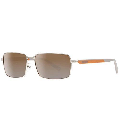 Harley Davidson Unisex Sonnenbrille SUNGLASSES HDX869 BLK-3 GENTS, Farbe: Orange, Größe: One Size
