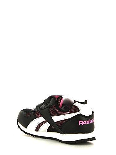... Reebok Royal Cljogger 2v Unisex-Kinder Sneaker Schwarz - Noir  (Black/White/ ...