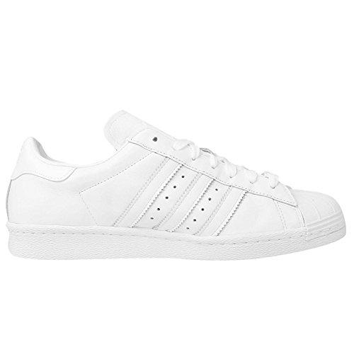 Adidas Chaussures Superstar 80S Mark Gonzales - White-Blanc Blanc