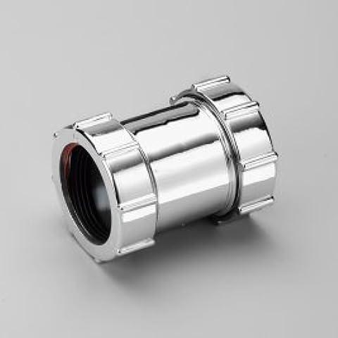 KMC1CX Multiwik Marley - Acoplamiento para tuberías (32 mm, cromado)