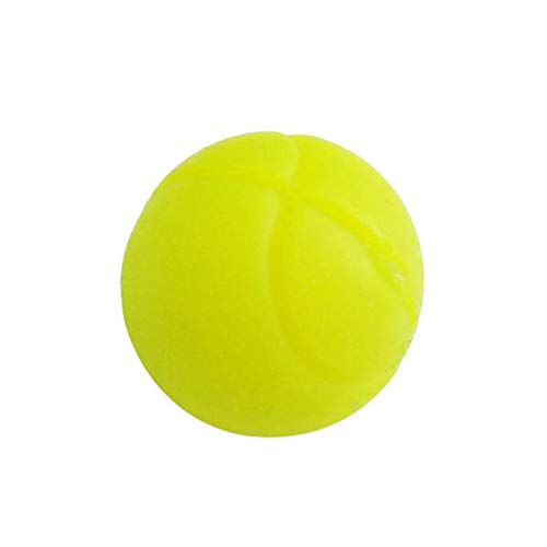 ouken Kugel-Form-Schläger Vibrationsdämpfer Stoßdämpfer Dämpfer Tennis String Shock Damping groß für Tennis Spieler Gelb -