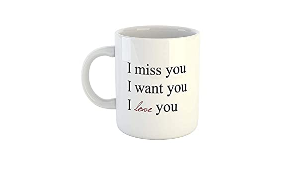 I want you i miss you