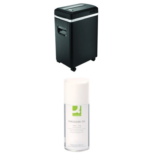 Buy Q-Connect Q8micro Micro Cut Shredder and Oil Bundle Special