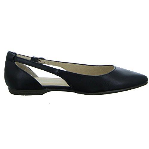 Tamaris 1-1-22125-38/015 Damen Ballerina flacher Boden ohne ausgeprägten Absatz BLACK MATT