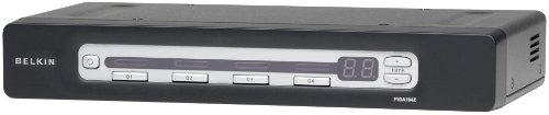 Belkin OmniView Pro3 4-Port KVM-Switch mit Bildschrimmenü
