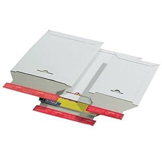 ColomPac Versandtasche, aus weißer Vollpappe, DIN A3