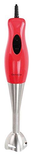 DomoClip DOP159R Mixeur Plongeur Rouge Rouge/Gris 300 W