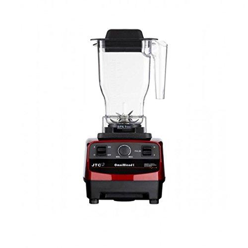 JTC OmniBlend I 3HP Original Series Commercial Kitchen Blender with 1.5L BPA-Free Jug (Maroon)