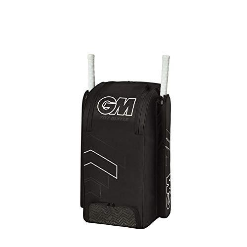 Gunn & Moore Unisex 707 Duffle Bag 2020 Cricket, Schwarz/Weiß, Einheitsgröße