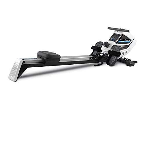 31 Tuu4Z2DL. SS500  - BH Fitness BOSTON R307. 11 lbs Flywheel. No more excuses to get in shape! Foldable rowing machine. Magnetic brake system. Electronic display. Quick and simple folding. Black, white, metallic