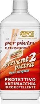 Geal Prevent 2 Pietra Lt.1 - Trattamento oleo e idrorepellente per tutti i tipi di pietra