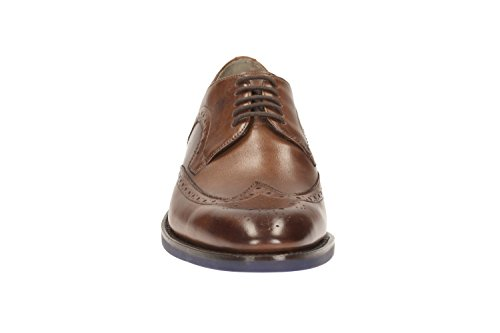 Clarks Swinley Limit leather Men's Boots leather shoes brown Marrone