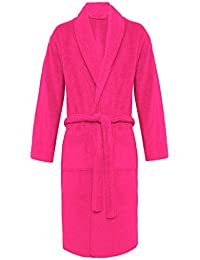 845c9d5a1d Mens Bathrobe Luxury Soft 100% Egyptian Cotton with Pockets and Belt  Dressing Gowns Towelling Bath Robe Terry Towel Shawl Collar…