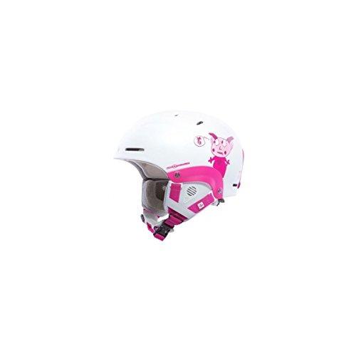 Sweet Protection Kinder Blaster Helmet, Satin White, M/L (Hose Wool Satin)