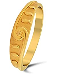 P.N.Gadgil Jewellers Lavanya Collection 22k (916) Yellow Gold Ring - B01M8HUEVP