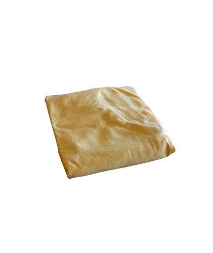 ABB Diffusion Drap housse berceau, en jersey coton extensible, 40 x 80 cm , Coloris Paille