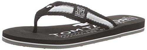 Tom Tailor Kids Tom Tailor Kinderschuhe, Jungen Zehentrenner, Schwarz