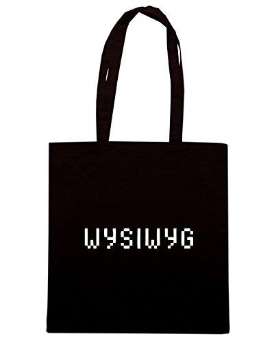 T-Shirtshock - Borsa Shopping OLDENG00729 wysiwyg Nero
