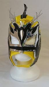 YELLOW - Lucha Dragons KALISTO Children's Wrestling Masks [GUEST WRESTLING EXCLUSIVE] by Guest Wrestling