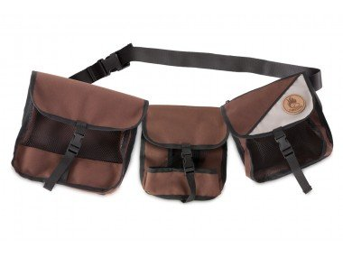 Firedog Trainingsgürtel Bauchgürtel braun/beige