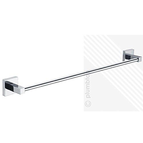 Arian bathroom accessory arian 39 pro 39 540mm single towel rail in chrome - Bathroom accessories towel rail ...