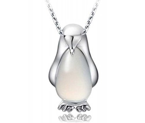 findout-ladies-sterling-silver-penguin-opal-pendant-necklace-for-women-girls-childrens036