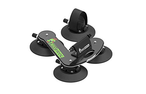 Treefrog MP0001 Suction Cup Car Bike Carrier, Black