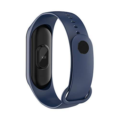 Imagen de fgryb rastreador de actividad, 1pcs ip68 pantalla a color de moda multifunciones pulsera inteligente pulsera digital de moda para el ocio deportivo azul  alternativa