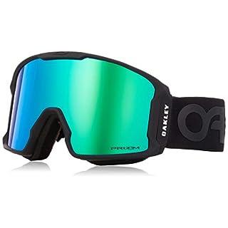 Oakley Herren Sportbrille Lineminer 707003 0 Schwarz (Matte Black/Prizmgogglejadeirid) 99