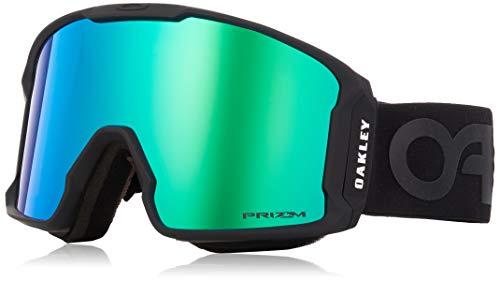 Oakley Herren Lineminer 707003 0 Sportbrille, Schwarz (Matte Black/Prizmgogglejadeirid), 99