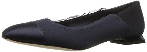 Calvin Klein Frauen Flache Schuhe Blau Groesse 9 US /40 EU -