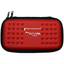 Digital Gaming World® New Design Zip Pouch Case for PS-Vita Console (Color: Red) (Console not included)
