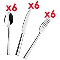 Juego de Cubertería Acero Inoxidable 18/10 3mm - Cucharas - Cuchillos - Tenedores -