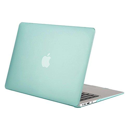 MOSISO MacBook Air 13 Hülle - Ultra Slim Hochwertige Plastik Hartschale Schutzhülle Shell Case für MacBook Air 13 Zoll (A1369 / A1466, 2010-2017 Version), Mint Grün