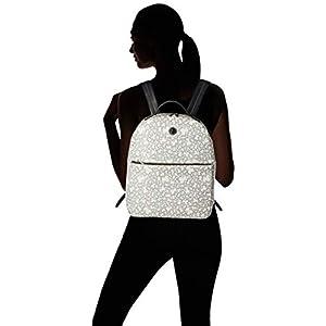 31 Uq4zzKnL. SS300  - Tous Kaos Mini Lona, Bolso Mochila para Mujer, Beige (Beige), 12x40x29 cm (W x H x L)