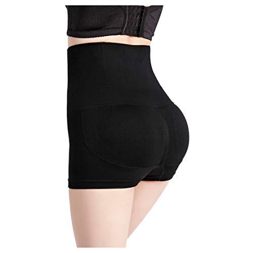 Sfigur Shapewear Damen Miederhose Bauchweg Unterhose Shaping Unterwäsche Panty dünn Miederpants Taillenformer Miederslip Unterwäsche Po Push-Up Höschen Mieder