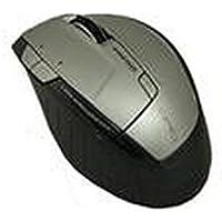 Primux Tech M808W - Ratón óptico inalámbrico, blanco