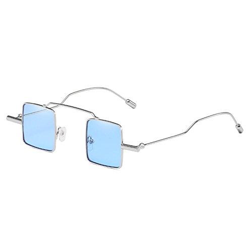 Juleya Retro Steampunk Sonnenbrille Matal Platz Kleine Gläser Für Frauen Männer Steampunk Schutzbrillen C8