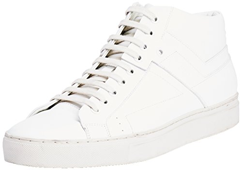 Hugo Futurism_Midc_Lt 10191227 01, Sneakers Hautes Homme Blanc (Open White 120)
