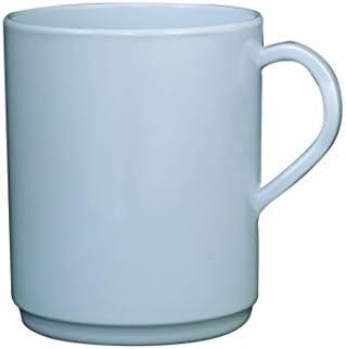 Genware MEL10MUG tazza in in in melammina, 10 oz, bianco (confezione da 12)   Alta qualità ed economia    Forte calore e resistenza al calore  151c61