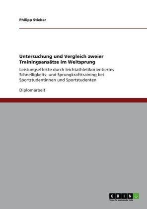 Untersuchung und Vergleich zweier Trainingsansätze im Weitsprung: Leistungseffekte durch leichtathletikorientiertes Schnelligkeits- und Sprungkrafttraining bei Sportstudentinnen und Sportstudenten