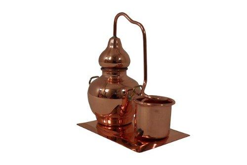 'CopperGarden®' Miniaturdestille mit Kühlkessel & Kupferplatte
