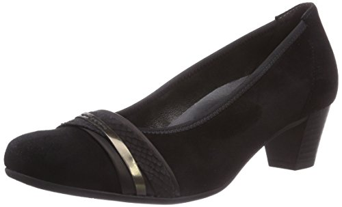 Gabor Shoes - Gabor, Scarpe col tacco Donna Multicolore (Mehrfarbig (schwarz/anthrazit))