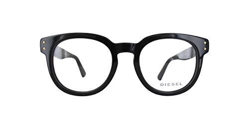 Diesel Damen DL5230-001-48 Brillengestelle, Schwarz, 48